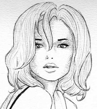 Clara art art - Dessin profil visage ...